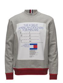 Hilfiger Collection He Classic Sweat Pho Harmaa