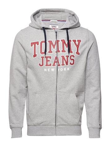 Tommy Jeans Tjm Essential Graphic Zipthru Harmaa