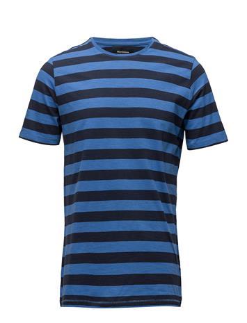 Matinique Jermane Yarn Dyed Stripe Sininen