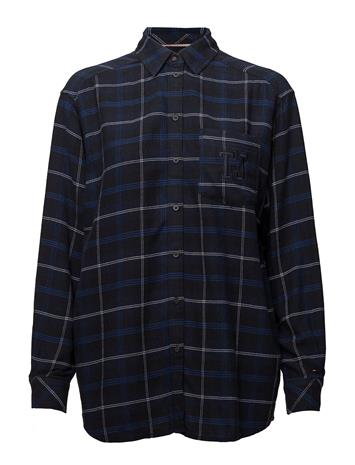 Tommy Jeans Tjw Check Flannel Shirt Sininen