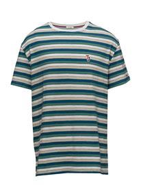 Tommy Jeans Tjm Multi Stripe Tee Vihreä