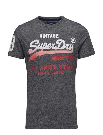 Superdry Shirt Shop Fade Tee Harmaa