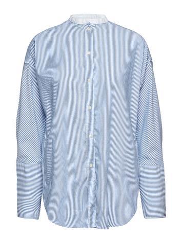 GANT O1. Tp Oversized Oxford Shirt Sininen