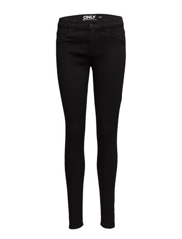 ONLY Onlrain Reg Skinny Jeans Cry6060 Noos Musta