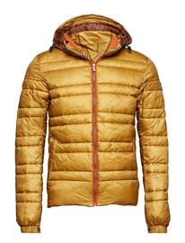 Scotch & Soda Classic Hooded Down Jacket Keltainen