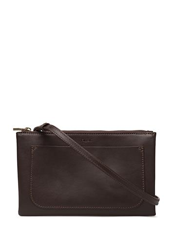 Filippa K Carol Leather Mini Bag Ruskea