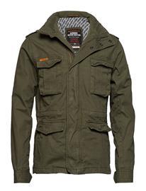Superdry Classic Rookie Military Jacket Vihreä