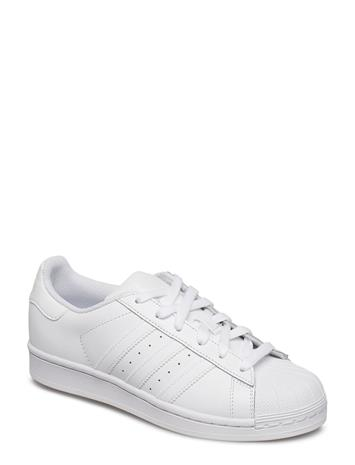 adidas Originals Superstar J Valkoinen