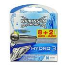 Wilkinson Sword Hydro 3, partahöylän vaihtoterät 10 kpl