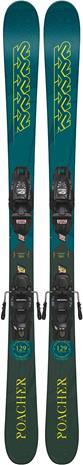 K2 Poacher Alpin Laskettelusukset 139 cm + Siteet