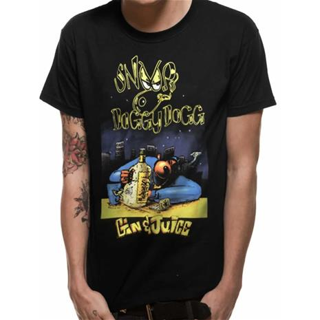 Rockshirts SNOOP DOGG - GIN AND JUICE T-Paita