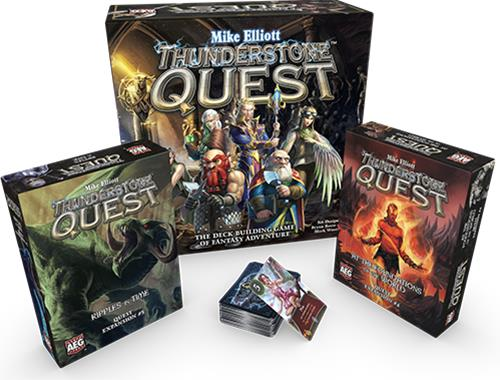 Thunderstone Quest: At the Foundations of the World, lautapeli