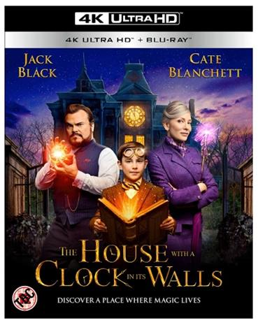 House With a Clock in Its Walls (4k UHD + Blu-Ray), elokuva