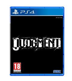 Judgment, PS4 -peli