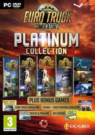 Euro Truck Simulator 2: Platinum Collection, PC-peli