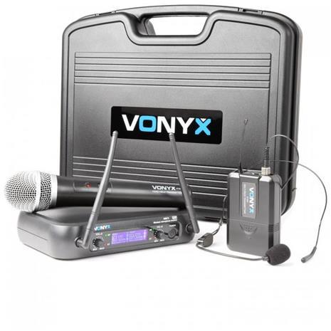 Vonyx WM73C, langaton mikrofonisetti