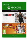 NBA 2K19 + NBA 2K Playgrounds 2 Bundle, Xbox One -peli