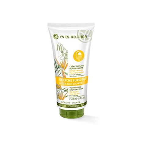 Yves Rocher Suihkuvoide - ravitsee kuivaa ihoa, 200 ml