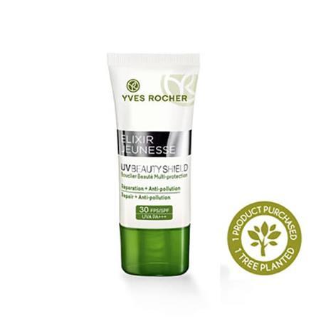 Yves Rocher SPF 30-päivävoide - Anti-pollution, 30 ml