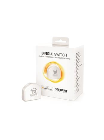 Fibaro FGBHS-213 Single Switch for Apple Homekit, etävirtakytkin