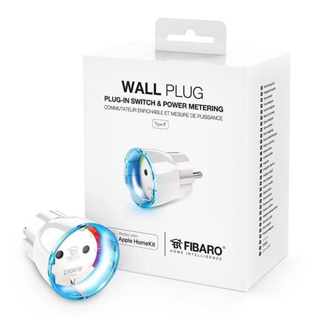 Fibaro Wall plug Type F (FGBWHWPF-102), seinäpistoke
