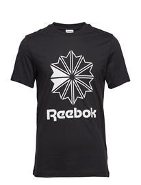 Reebok Classics Cl Big Logo Tee Musta