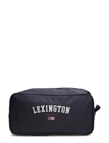 Lexington Clothing Princeton Toilet Bag Sininen