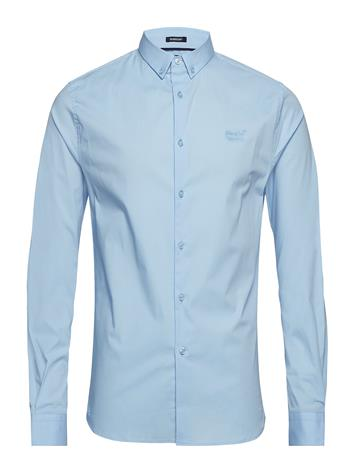 Superdry Tailored Slim Fit L/S Shirt Sininen