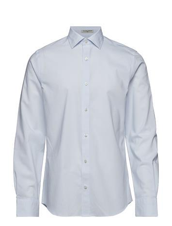GANT O1. Am Cotton Broadcl Slim Spread Sininen