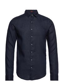 Superdry Premium Wash Linen L/S Shirt Sininen