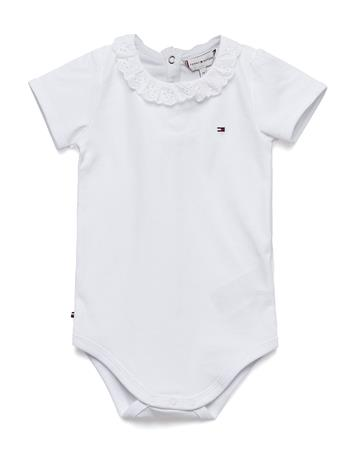 Tommy Hilfiger Baby Girl Broidery B Valkoinen