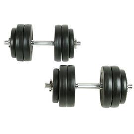 vidaXL Käsipainosarja 18 osaa 30 kg