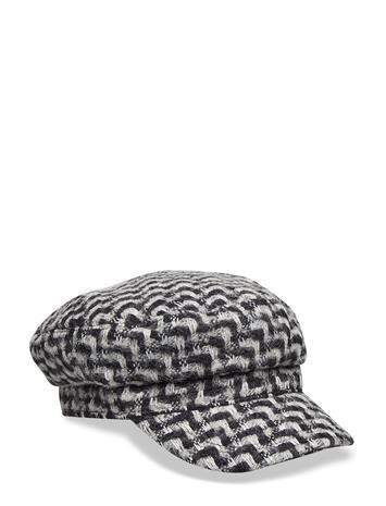 BECKSä–NDERGAARD Zig Zag Mock Hat Musta