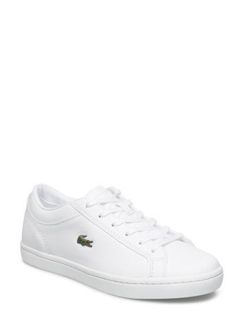 Lacoste Shoes Straightset Bl 1 Cfa Valkoinen