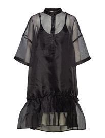 HOLZWEILER Twisted Dress Musta