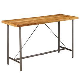 vidaXL Baaripöytä kierrätetty tiikki 180x70x107 cm