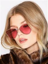 Le Specs Echo Kulta/Vaaleanpunainen