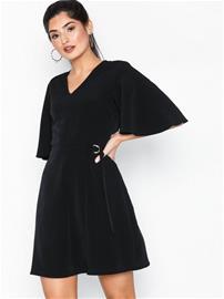 Sisters Point Nail Dress Black/Gold