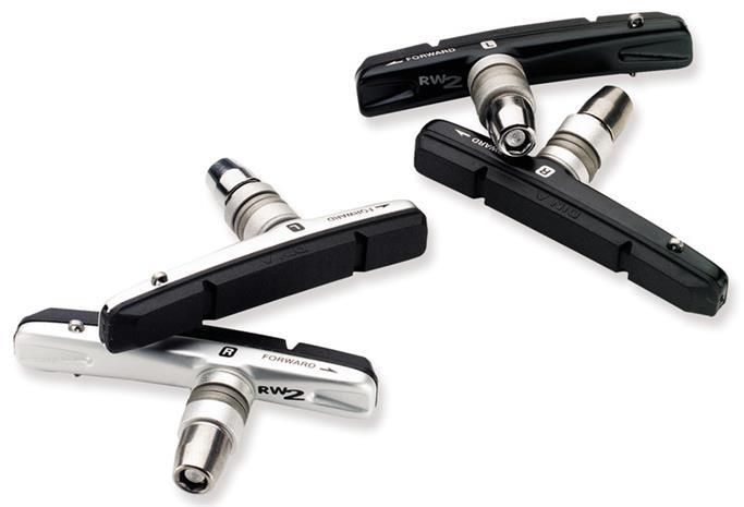 Avid Rim Wrangler 2 Jarrupalat Cartridge, Standard, 2er -sarja , harmaa/musta