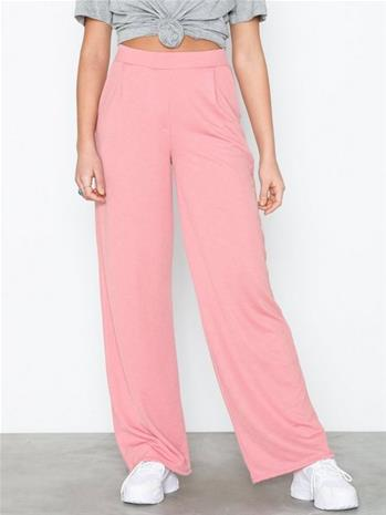 NLY Trend Tailored Wide Pants Vaaleanpunainen