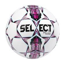Select Jalkapallo Brillant Super - Valkoinen/Pinkki ENNAKKOTILAUS