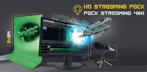 Steelplay Pack Streaming Pro HD 4 in 1, videoeditointisetti