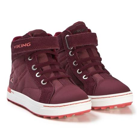 Viking Sagene MID GTX Tennarit, Wine/Coral 32