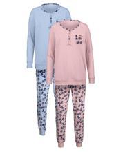 Pyjama Harmony puuteri/vaal.sin59403/20X
