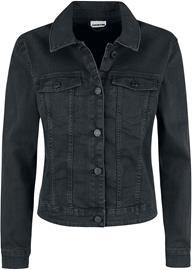 Noisy May Debra Black Wash Denim Jacket Naisten Farkkutakki musta