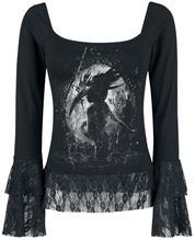 Alchemy England Masquerade Naisten pitkähihainen paita musta