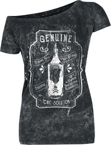 Outer Vision Genuine Poison Naisten T-paita harmaa