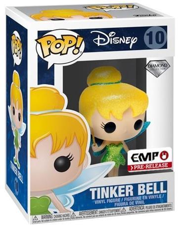 Helinä-keiju Tinker Bell (Diamond Collection + Glitter) - Vinyl Figure 10 (figuuri) Keräilyfiguuri Standard