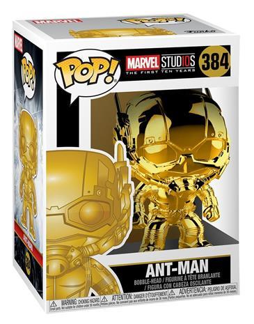 Marvel Marvel Studios 10 - Ant-Man (Chrome) Vinyl Figure 384 (figuuri) Keräilyfiguuri Standard