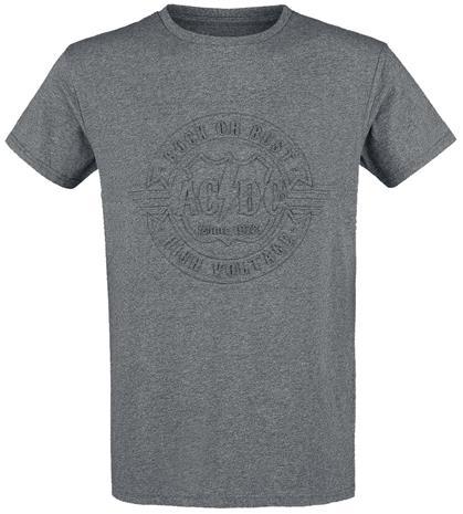 AC/DC EMP Signature Collection T-paita sävytetty harmaa
